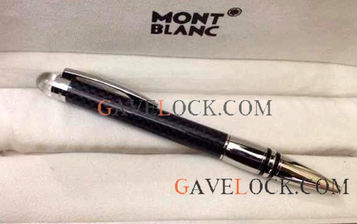 Copy Mont blanc Starwalker Ultimate Carbon Fiber Ballpoint Pen Montblanc Wholesale